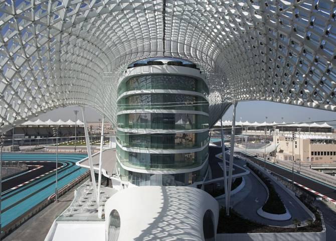 Außenansicht W Abu Dhabi
