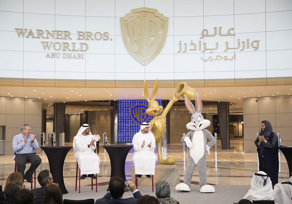 Warner Bros. World Abu Dhabi Eröffnung