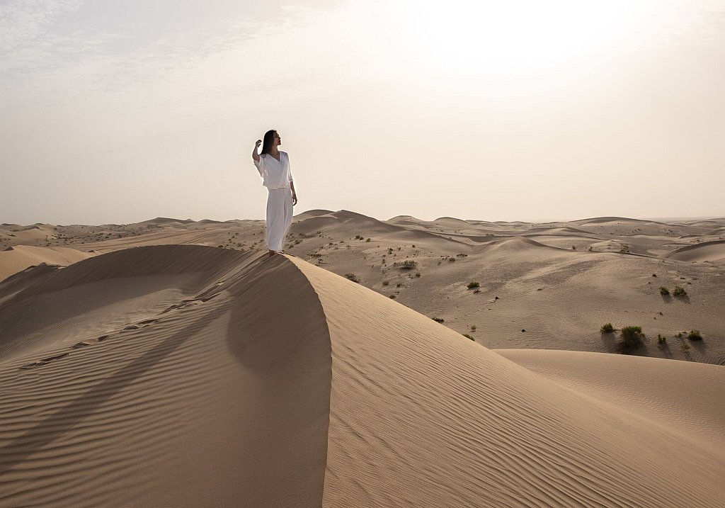 Wüstenklima Abu Dhabi