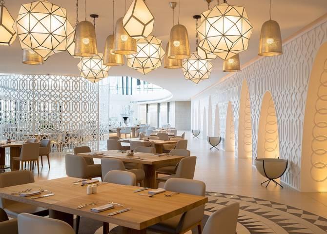 Restaurant Frühstück Abu Dhabi