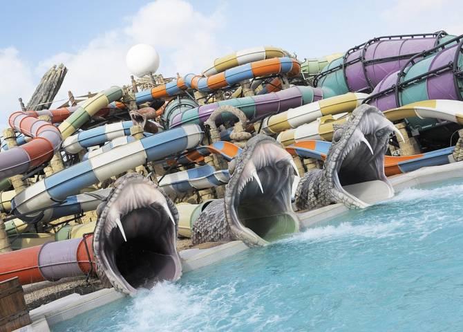 Wasserpark Abu Dhabi