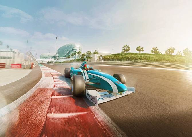 Yas Marina Circuit Auto