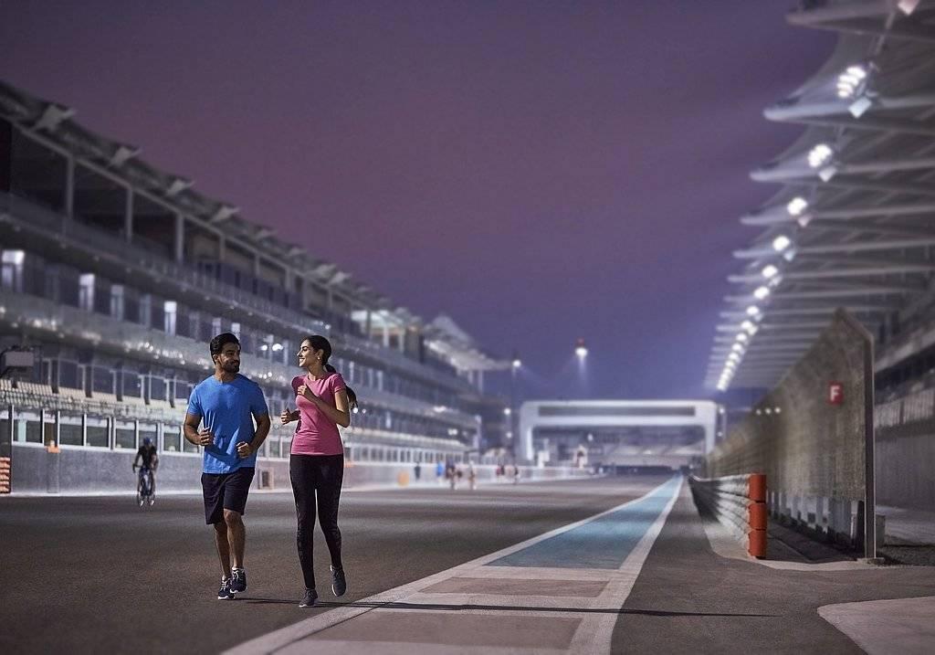 Yas Marina Circuit Joggen