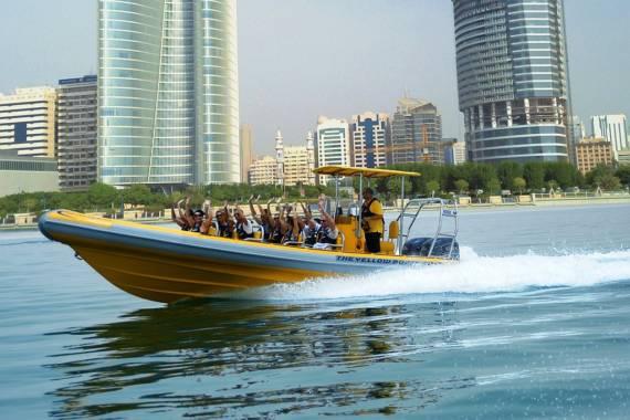 Ausflug Boot ABu Dhabi